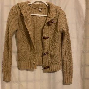 Free People Sweater Tan XS knit